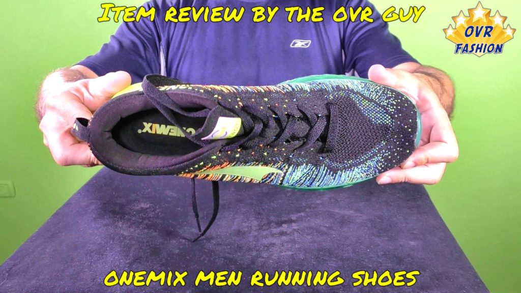 ONEMIX Men Running Shoes (Review