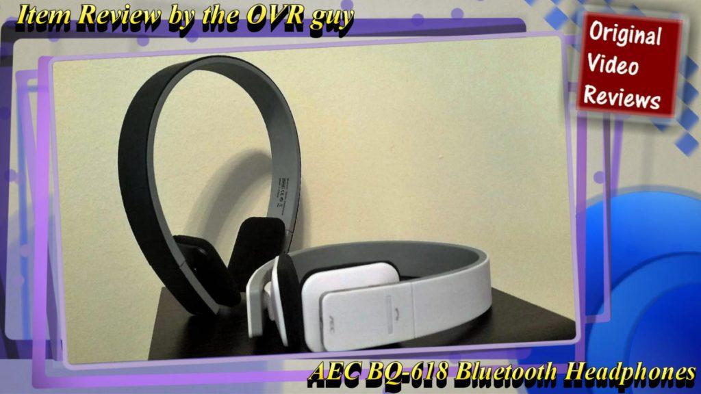 Aec Bq 618 Bluetooth Headset Review Original Video Reviews