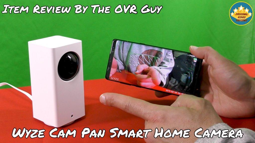 Wyze Cam Pan Smart Home Camera (Review) - Original Video Reviews