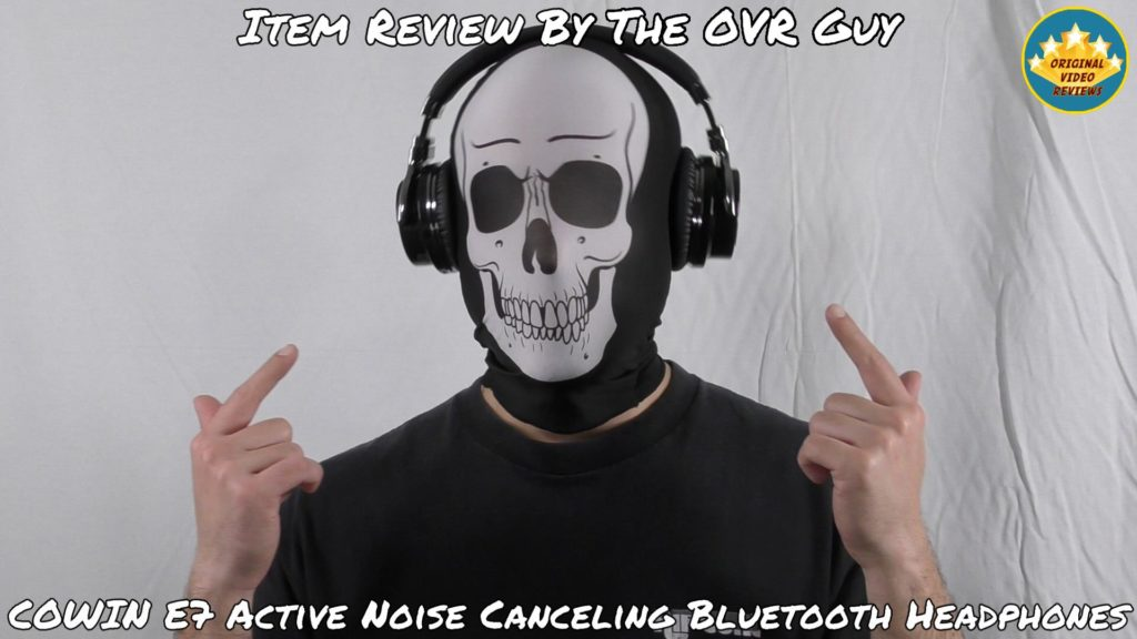 COWIN E7 Active Noise Canceling Bluetooth Headphones (Review)